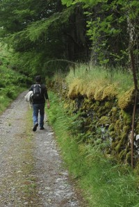 Going for a stroll, Knoydart style.