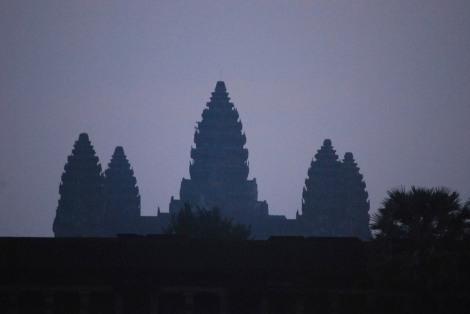 First light at Angkor Wat