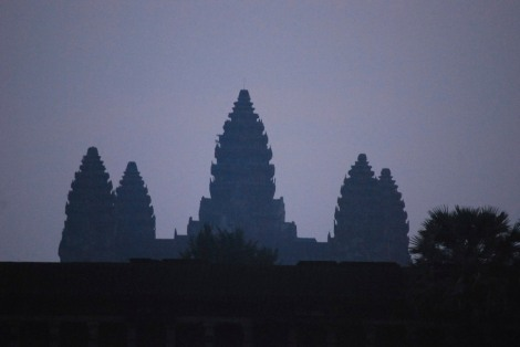 First light at Angkor Wat