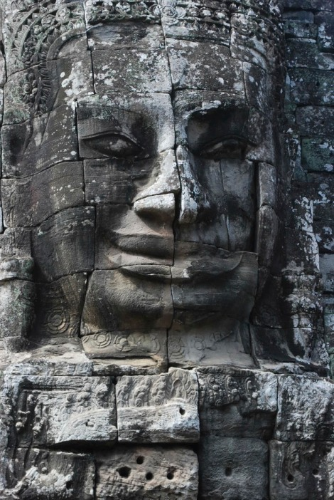 One of the many faces of Bayon