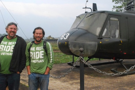 Ray & Gav at the Khe Sanh museum